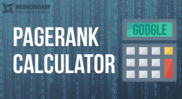 Google's PageRank – Calculator
