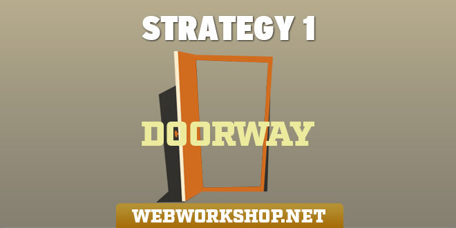 Doorway Pages & Links – Strategy 1